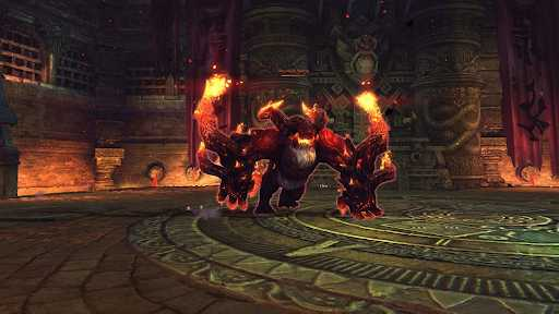bom của đại hỏa ngục vương đặt trên 3 người đánh boss đầu tiên có bán kính bao nhiêu mét?